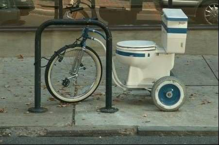 Bike Toilete