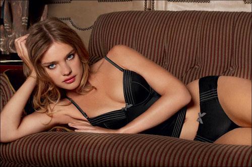 Russian supermodel Natalia Vodianova.
