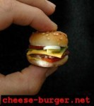 smallest burger 02 133x150 World's Smallest Burger
