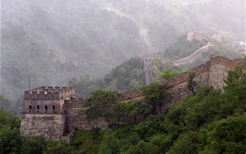 Great Wall of China Myth