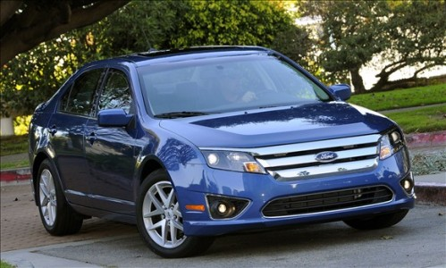 ford fusion 499x300 Top 10 Best Selling Cars in America