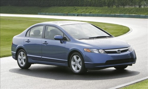 honda civic 499x300 Top 10 Best Selling Cars in America