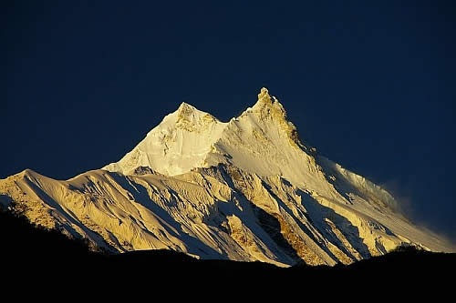 manaslu Top 10 Highest Mountain Peaks in the World