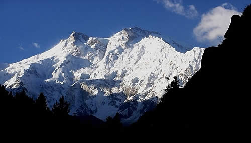 nangaparbat Top 10 Highest Mountain Peaks in the World