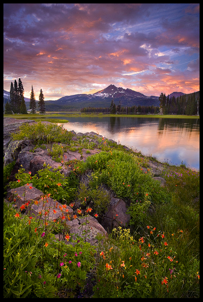 Columbine Island Sunset by MarcAdamus Most Beautiful Nature Photography