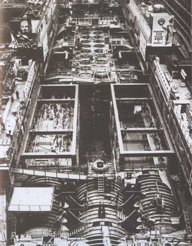 typhoon3 Photos of Russian Typhoon class nuclear submarine construction process