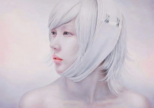 01 Bleached Memory 227.3X162  500x352 Impressively realistic Oil Paintings by Kwon Kyung Yup