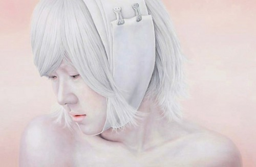 Kwon Kyung Yup - Bleached Memory2 130X194cm oil on canvas 2009