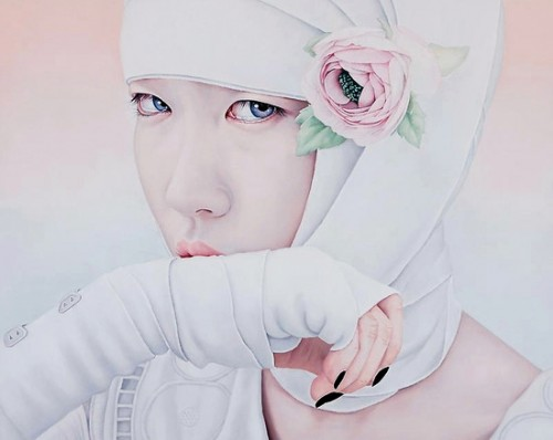 Kwon Kyung Yup - Black Nails 130X162.2cm oil on canvas 2009