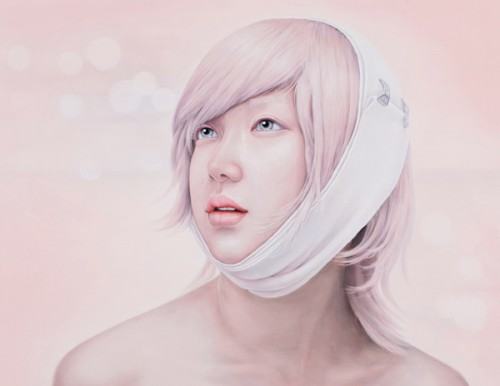 Kwon Kyung Yup - Eternity 116.8X91cm oil on canvas 2010
