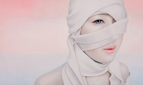 Kwon Kyung Yup - Moments 162.2X97cm oil on canvas 2008