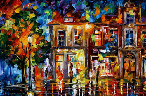 afremov01 Amazing Oil Paintings by Leonid Afremov