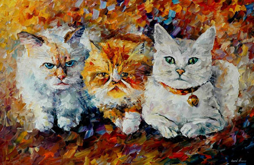 FRIENDS - Original Oil Painting on Canvas