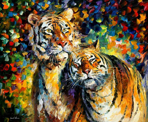 afremov07 Amazing Oil Paintings by Leonid Afremov
