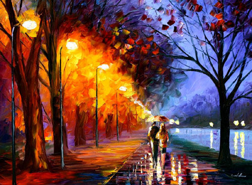 afremov10 Amazing Oil Paintings by Leonid Afremov