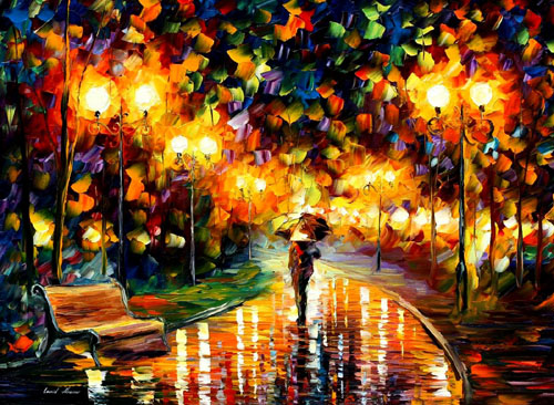 afremov12 Amazing Oil Paintings by Leonid Afremov