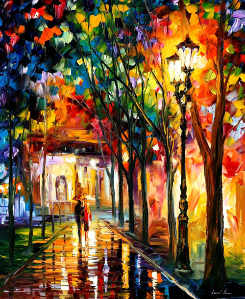 afremov13 Amazing Oil Paintings by Leonid Afremov