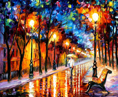 afremov15 Amazing Oil Paintings by Leonid Afremov