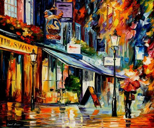 LONDON THE SAWN - Original Oil Painting