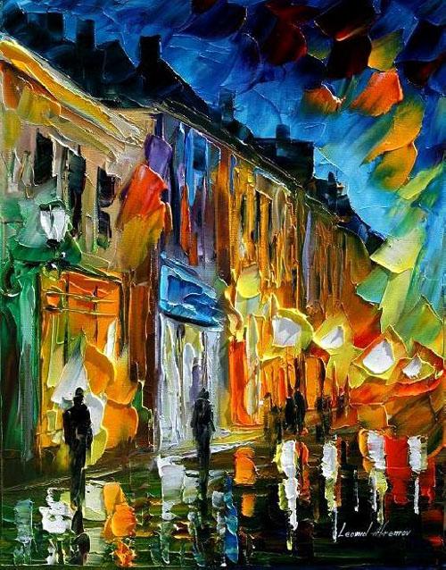 MEMORY FLAMES - Original Oil Painting