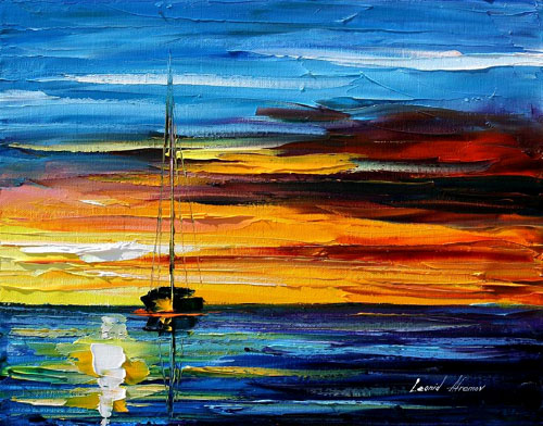 afremov29 Amazing Oil Paintings by Leonid Afremov