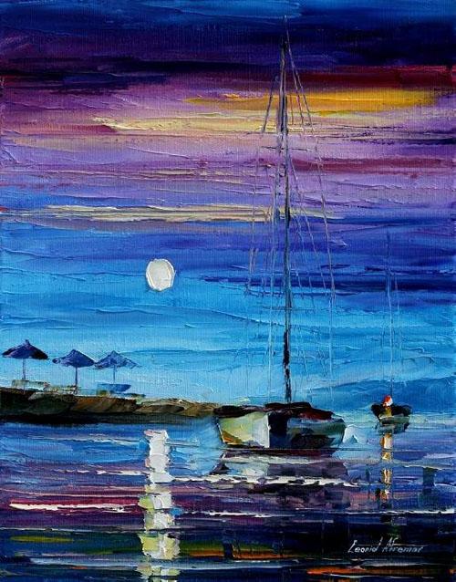 BEACH MYSTERY - Original Oil Painting