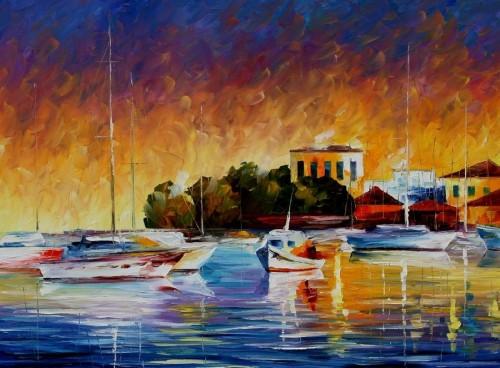 SIESTA - Original Oil Painting