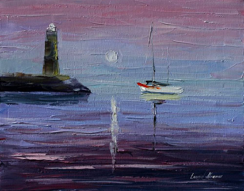 CALM BEAUTY - Original Oil Painting