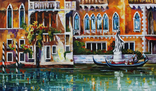 VENICE DREAMS NEW - Original Oil Painting