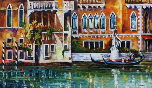 VENICE DREAMS NEW - Original Oil Painting