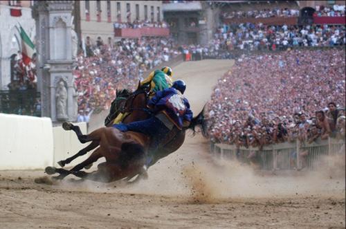 palio race14 Sienas Palio Horse Race