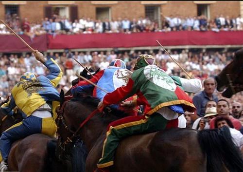 palio race17 Sienas Palio Horse Race