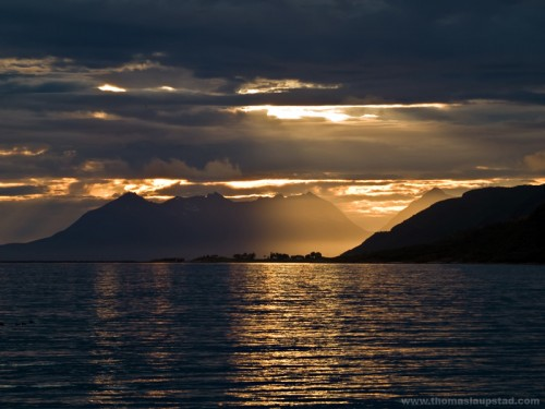 Sunset in Northern Norway