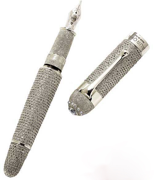 Aurora Diamante Top 10 Most Expensive Pens in The World