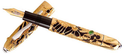 gaia high luxury Top 10 Most Expensive Pens in The World