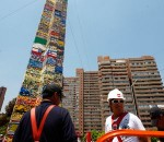 Chile LEGO tower