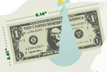 one dollar 150x101 Life and Death of a One Dollar Bill (Infographic)