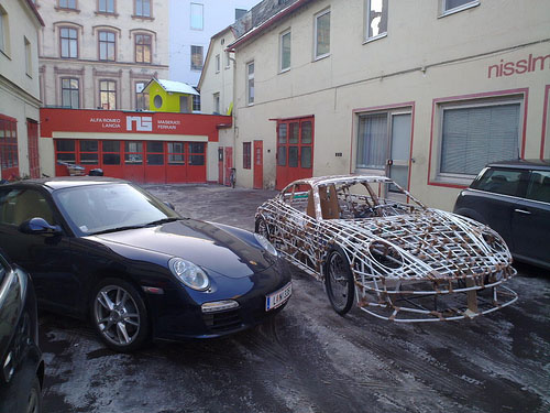 Homemade Bike Porsche - Ferdinand GT3 RS