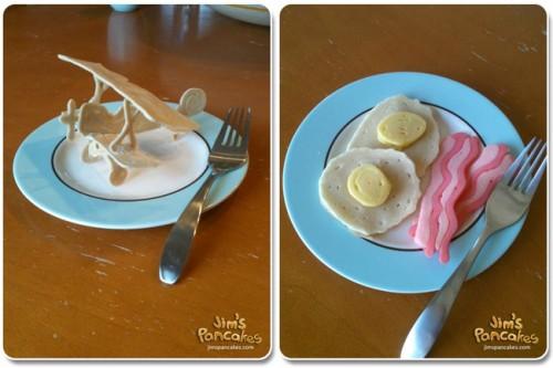 pancakes plane