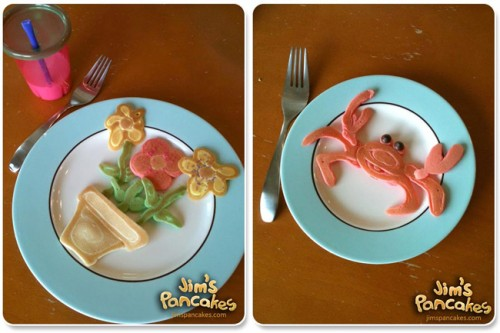 Amazing Pancakes Food Art