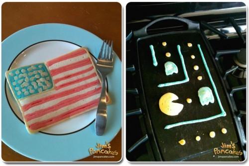 pancakes art