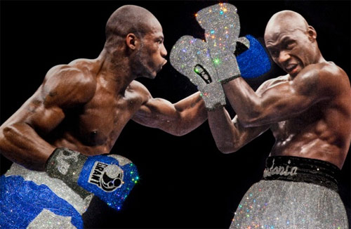 boxing crystal punch Shiny and Expensive Images of Boxers