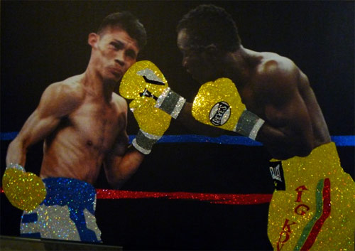 boxing yellow crystal Shiny and Expensive Images of Boxers