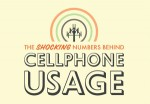 cellphone usage 150x104 The Shocking Numbers Behind Cell Phone Usage (Infographic)