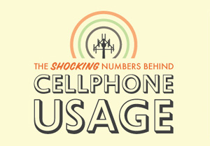 The Shocking Numbers Behind Cell Phone Usage