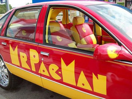 Pac Man Car
