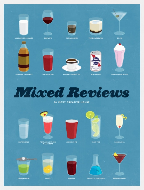 Movies Represented As Drinks