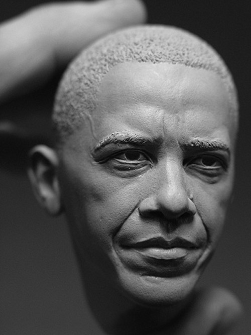 obama sculpture Delicate Sculptures Made From Special Material