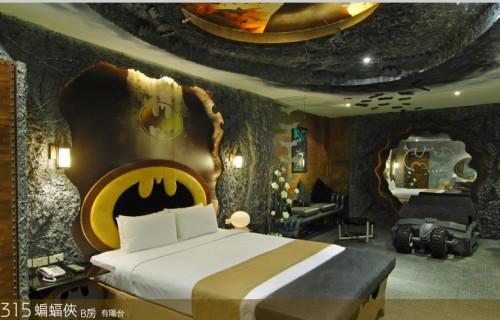 Crazy Batman Room Design