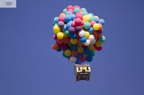 Disney/Pixar's 'Up' created in real life